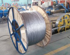 大轴镀锌钢绞线